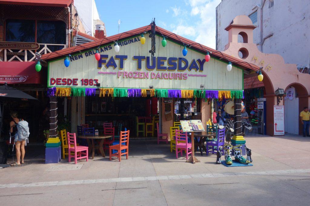 Nicht in New Orleans, sondefn in Mexiko